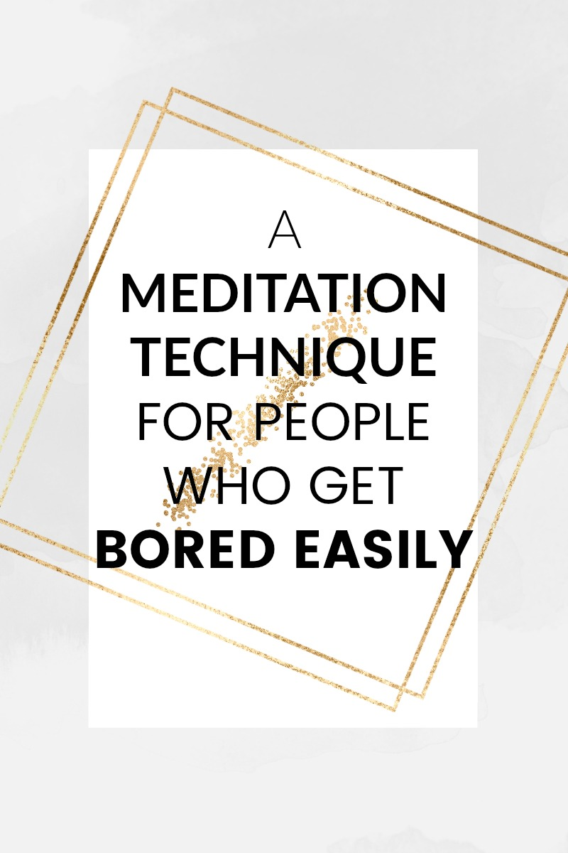If you want to start meditating but find yourself easily bored or distracted everytime you try, I can help. I've discovered a simple trick that will help you to get a great meditation session - it's perfect for people who have trouble staying focused. There are so many benefits to regular meditation. Try it with me! - SpirituallyEmpowered