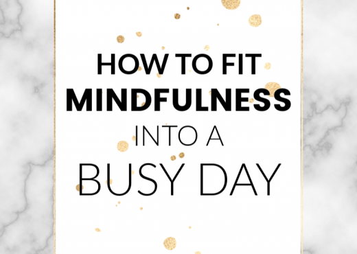 When our thoughts begin to spiral and snowball, mindfulness gives us the power to regain control. But so many of us have trouble fitting mindfulness practices into our busy lives. Read this post to get all my tips and tricks on how to live a mindful life, effortlessly!