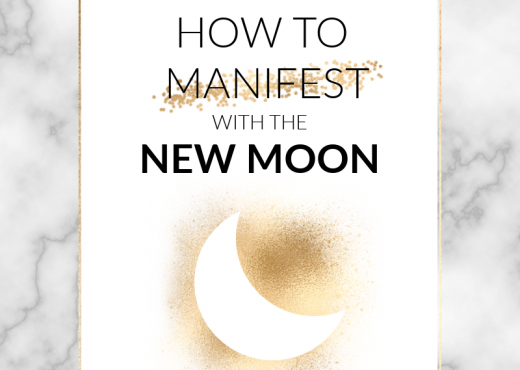 Working with the energy of the New Moon can supercharge your manifesting and help you to reach your goals. Read the post to find out how!